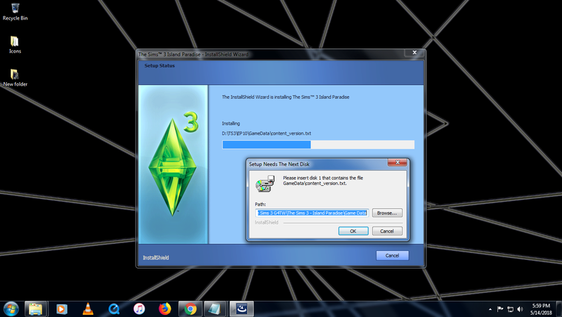Sims 3 Installation Issue Errori10