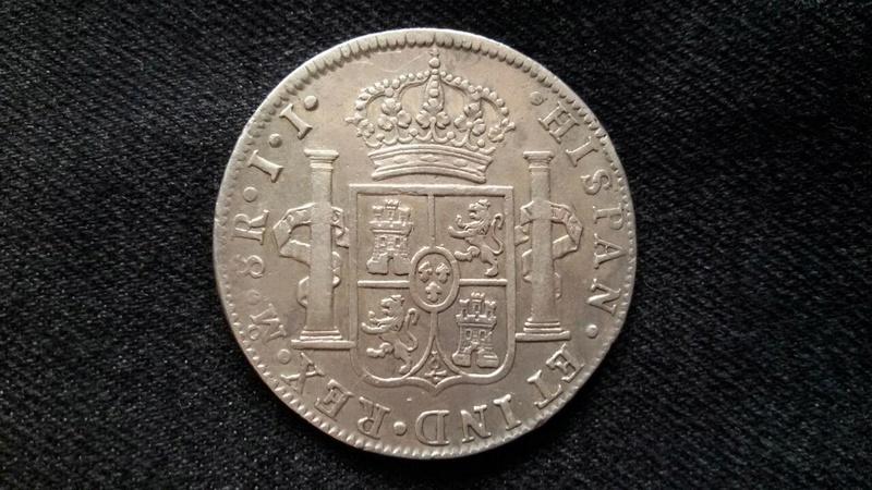 8 Reales México 1819, Fernando VII Photo_20