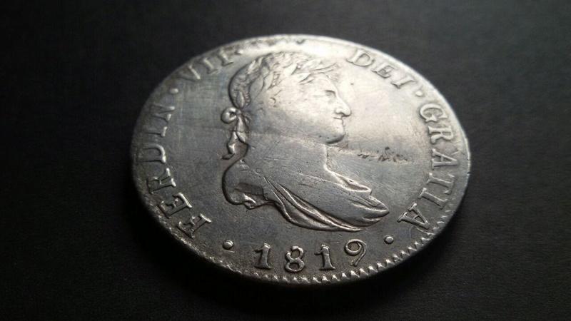 8 Reales México 1819, Fernando VII Photo_22