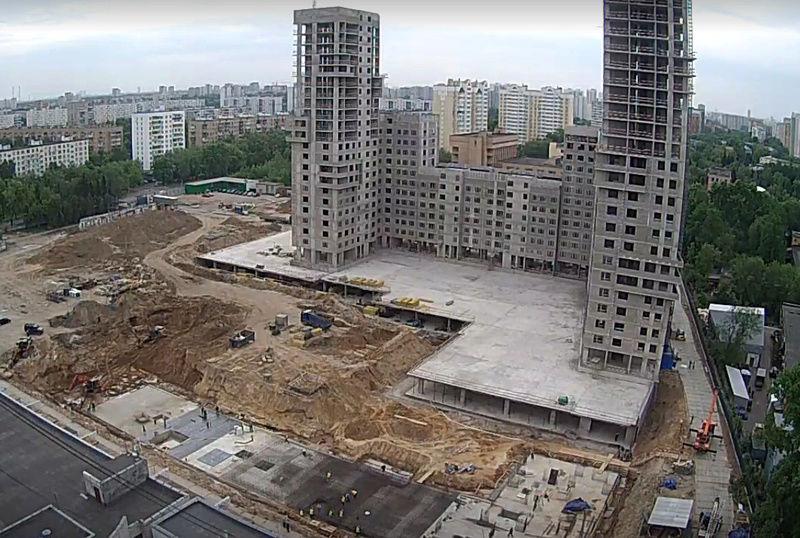 """Веб-камеры на площадке строительства ЖК """"Нормандия"""" - Страница 4 410"""
