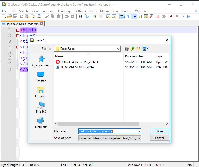 HTML শেখা। দ্বিতীয় পর্ব। #HTML Screen16