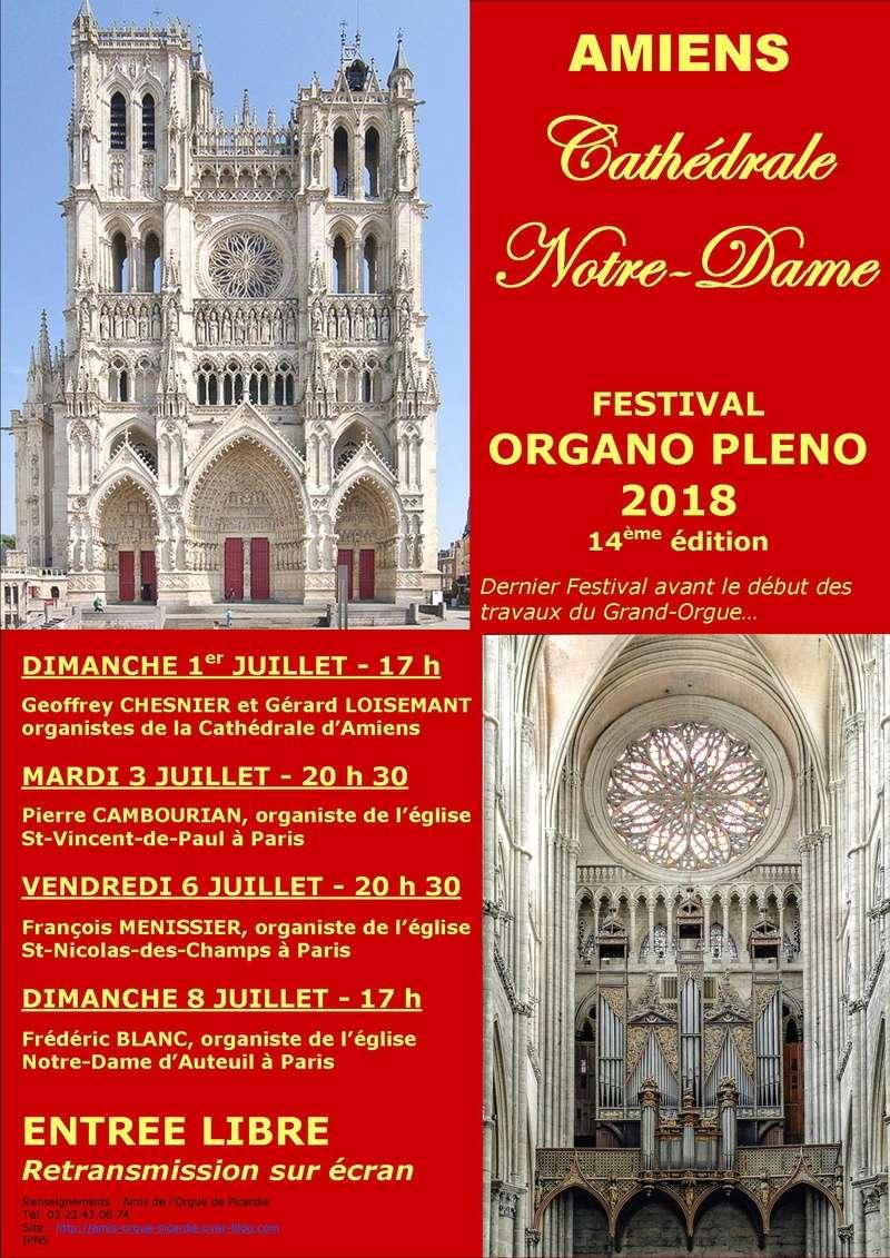 """2018/07- FESTIVAL """"ORGANO PLENO"""" - Cathédrale d'AMIENS Essai_11"""