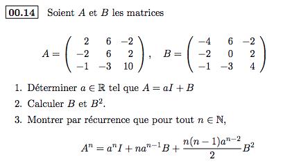 Matrice spécialité mathématiques ES Captur10