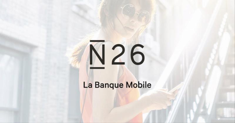 N26 la banque mobile N2610