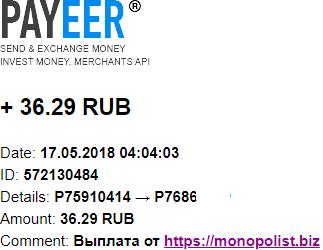 MONOPOLIST. BIZ-экономический симулятор Z39