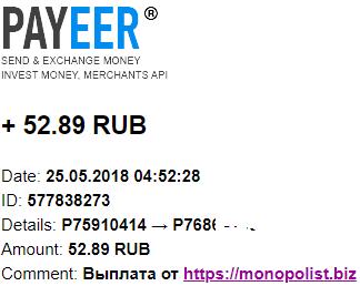 MONOPOLIST. BIZ-экономический симулятор Z61
