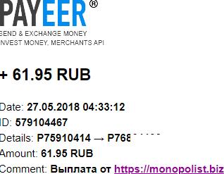 MONOPOLIST. BIZ-экономический симулятор Z66