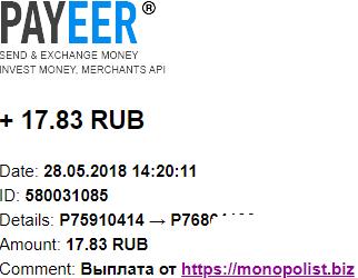 MONOPOLIST. BIZ-экономический симулятор Z70