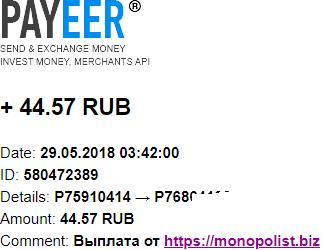 MONOPOLIST. BIZ-экономический симулятор Z71