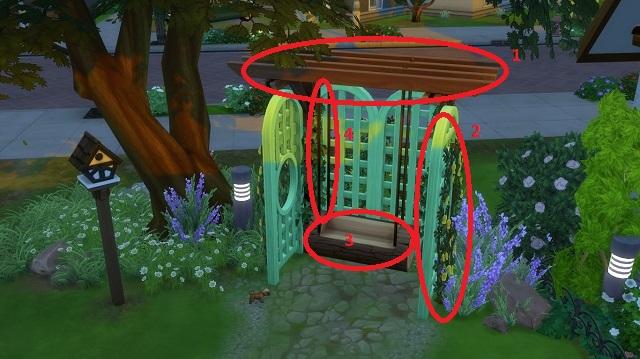 [Création Sims 4] Astuces déco et construction sans cc 15-05-12