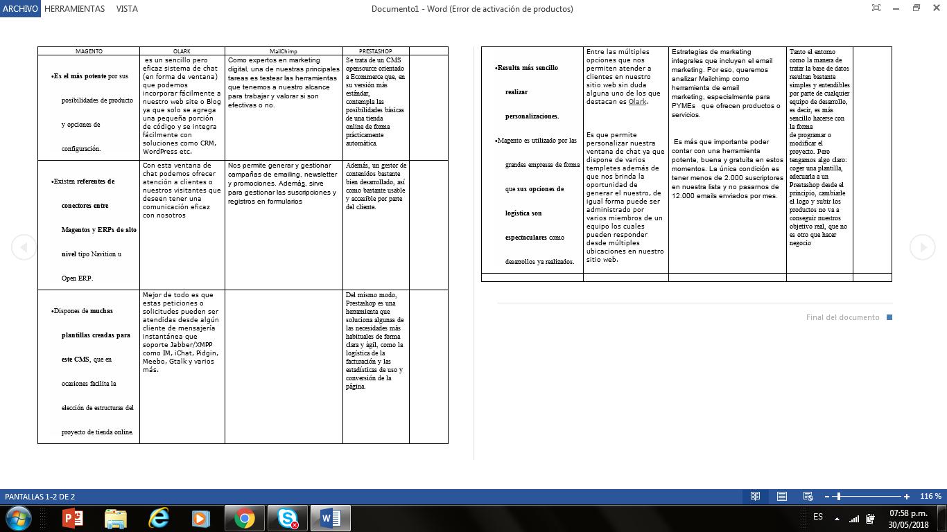Practica 2, realiza la practica 2 relacionada con la seleccion de la plataforma - Página 2 Y11