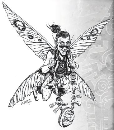 Razas de Earthdawn: Windlings 79bd2110
