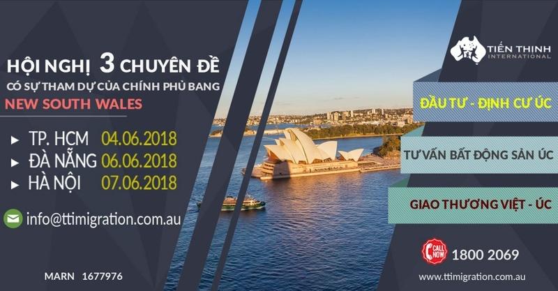 Sự kiện: Kết nối giao thương - Đầu tư - Định cư Úc Ggggg11