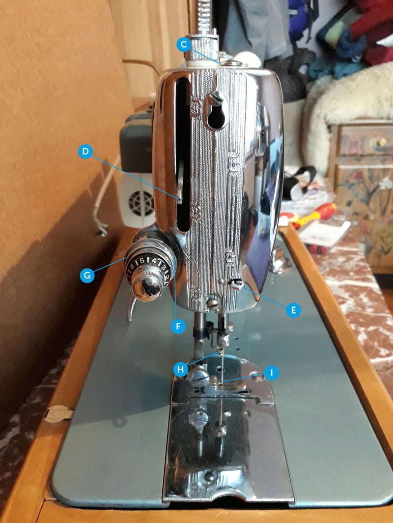 Usha Model-15A, Made in India Usha1010