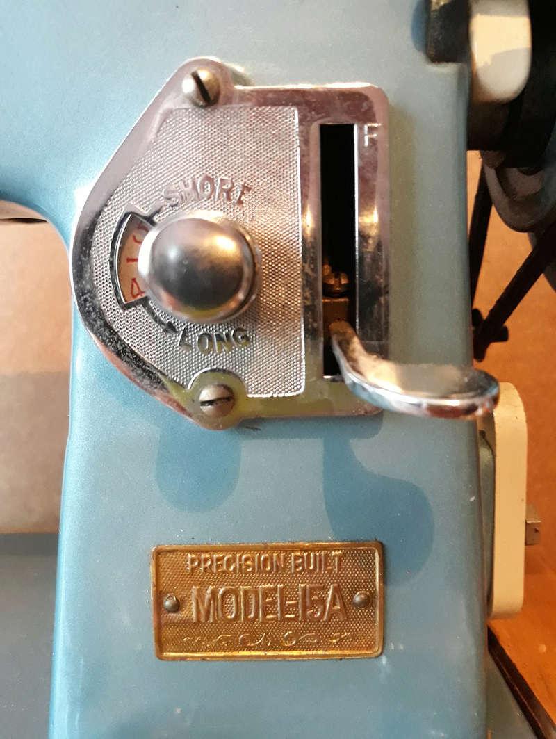 Usha Model-15A, Made in India Usha410