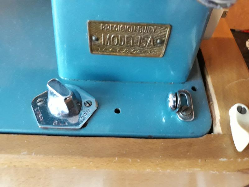 Usha Model-15A, Made in India Usha510