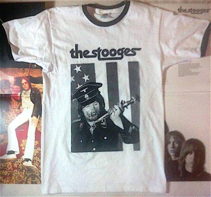 Stooges Bootleg Ringer Shirt Stooge10