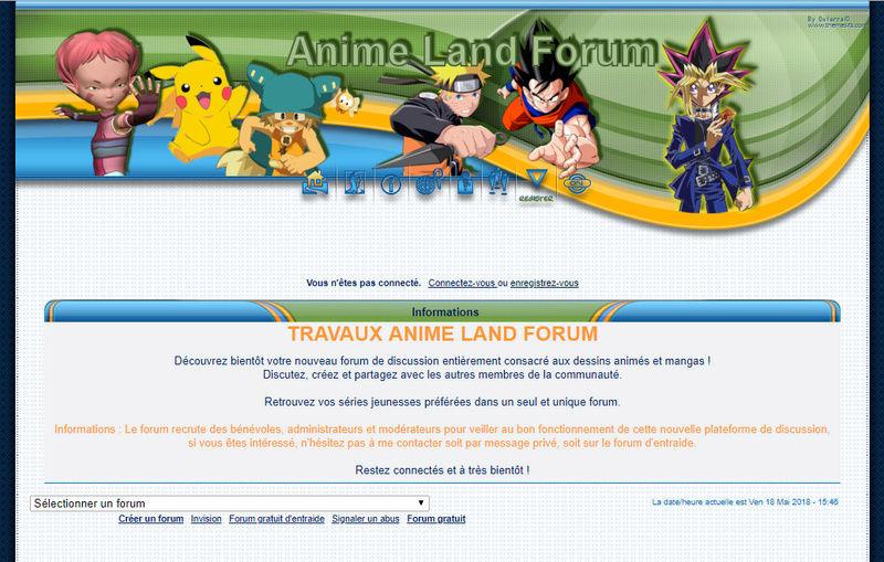 Recrutement Anime Land Forum Forum11