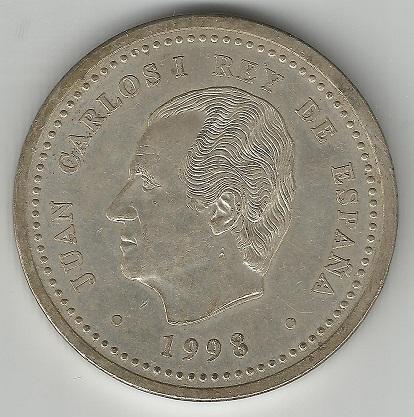 2000 pesetas 1998. Juan Carlos I  2000ca10