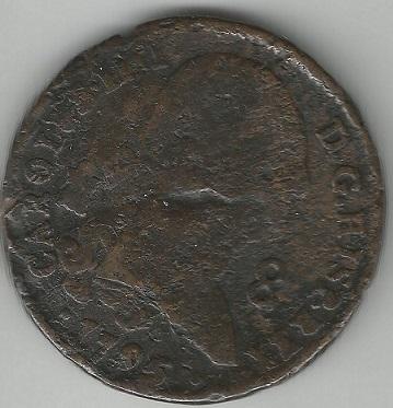 8 Maravedís. 1795. Ceca Segovia Scan110