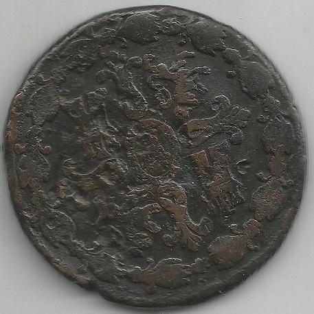 8 Maravedís. 1795. Ceca Segovia Scan210