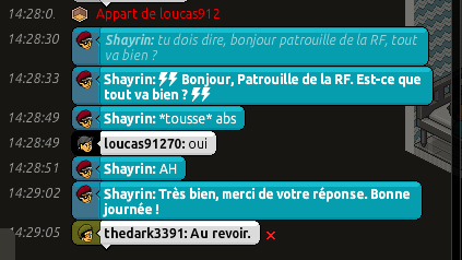 [C.M] Rapports de Patrouille de Shayrin Pat6-210