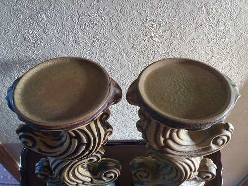 2 x Plant / Vase Stands - 45cm High - Both Marked 393/45 - Photographs  Stand310
