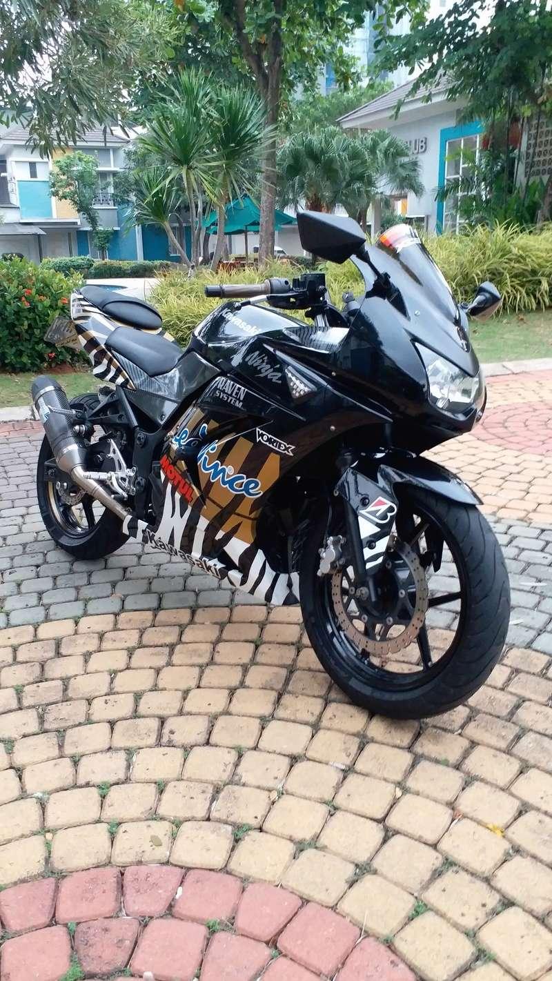WTS: Ninja 250 KARBU HITAM 2011 20180512