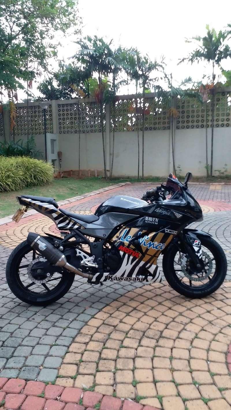 WTS: Ninja 250 KARBU HITAM 2011 20180513
