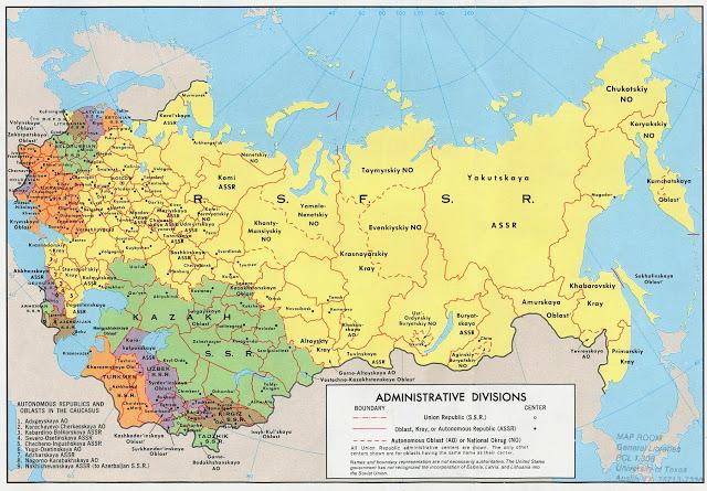 ¿Cómo afectó entonces la restauración del capitalismo a los límites de la propia URSS y sus regiones y repúblicas en lo económico?; Equipo de Bitácora (M-L), 2016 111