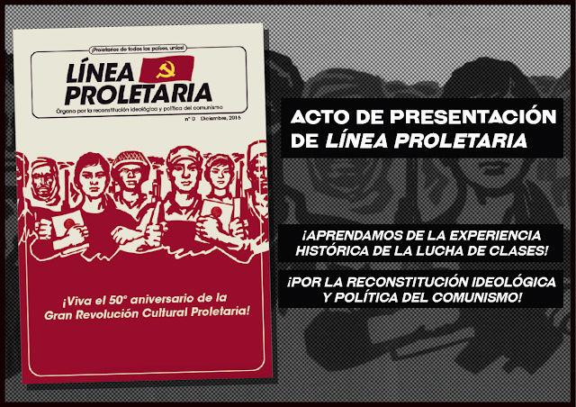Sobre la nueva corriente maoísta de moda: los «reconstitucionalistas» Cartel10