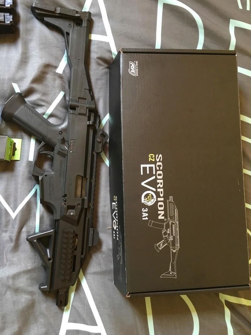 Scorpion Evo 3 + Mags + Accessoires, 300€ le lot, prix imbattable 32312910