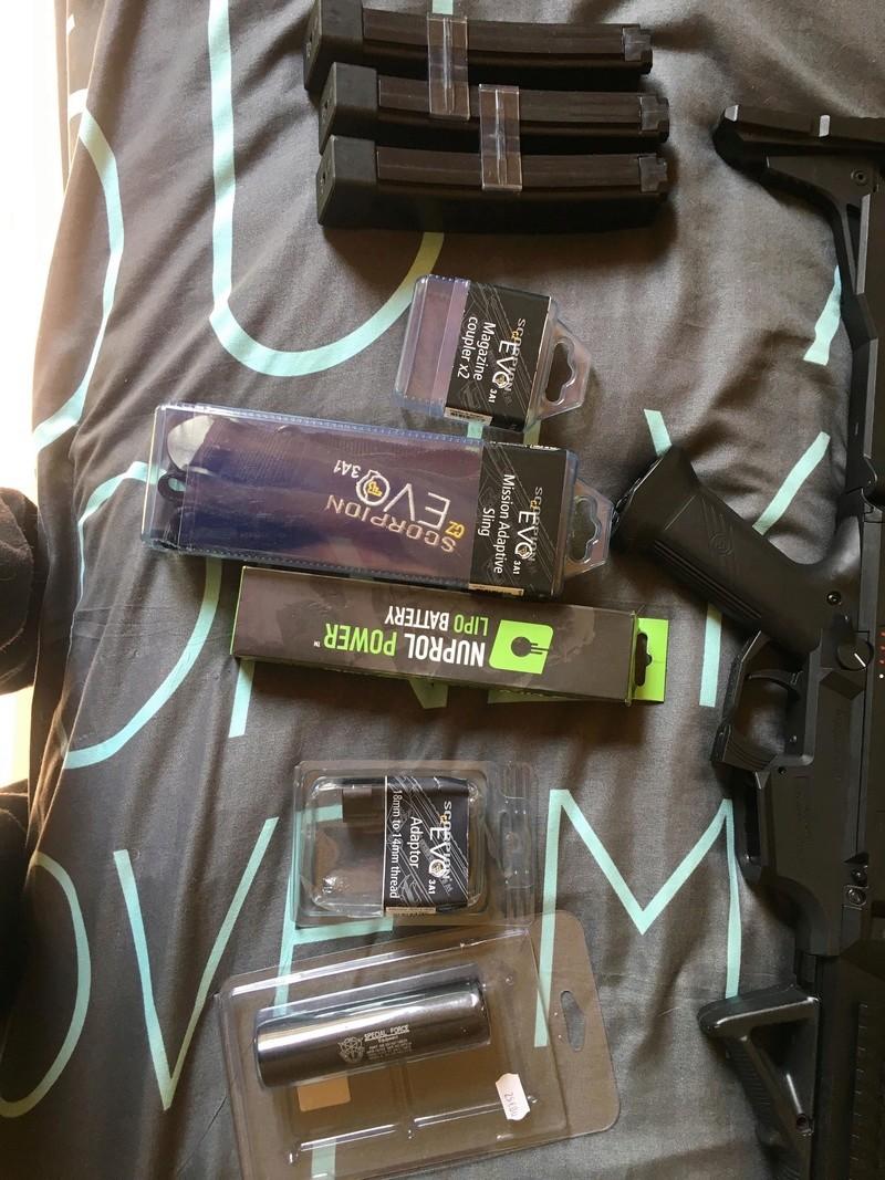Scorpion Evo 3 + Mags + Accessoires, 300€ le lot, prix imbattable 32457910