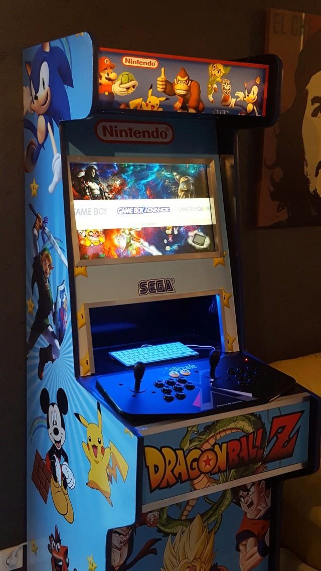 [WIP] 1ere création borne arcade 20180112