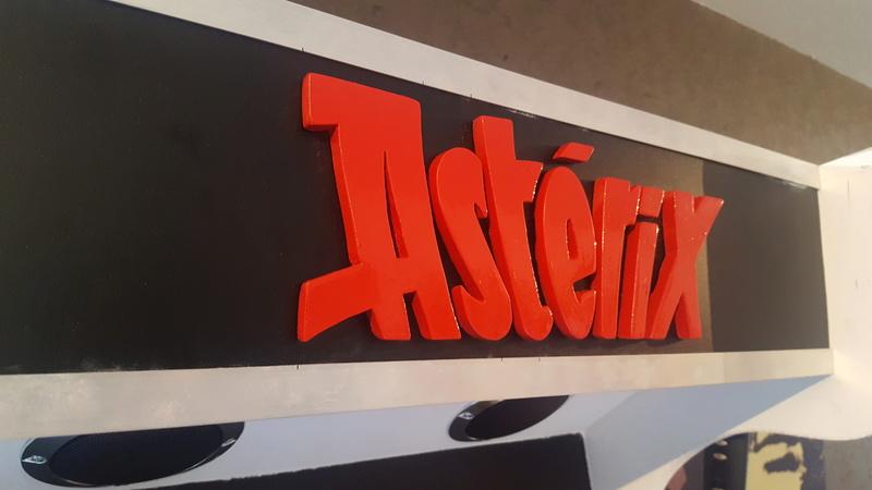 [WIP] Borne arcade Asterix  20180514