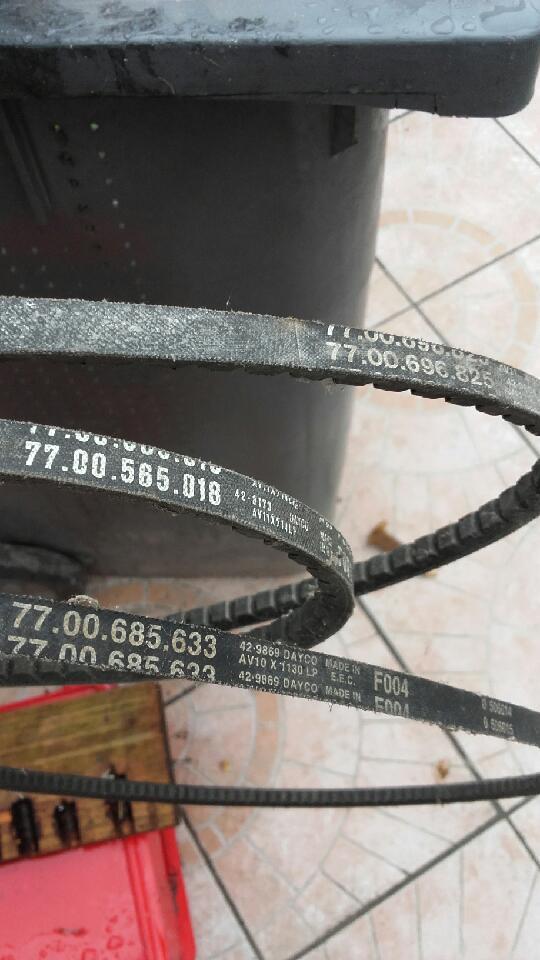 pièces de R12 R15 R17 et autres 20180612