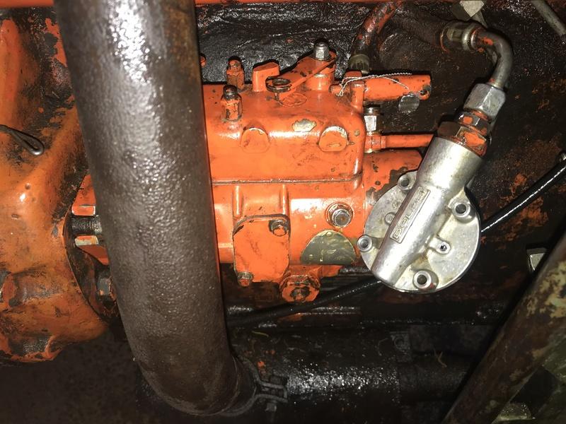 PROBLEME POMPE INJECTION RENAULT 80 TRACTO CONTROL A5352e10