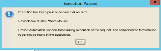 Move Mouse To error in device automation Error_10