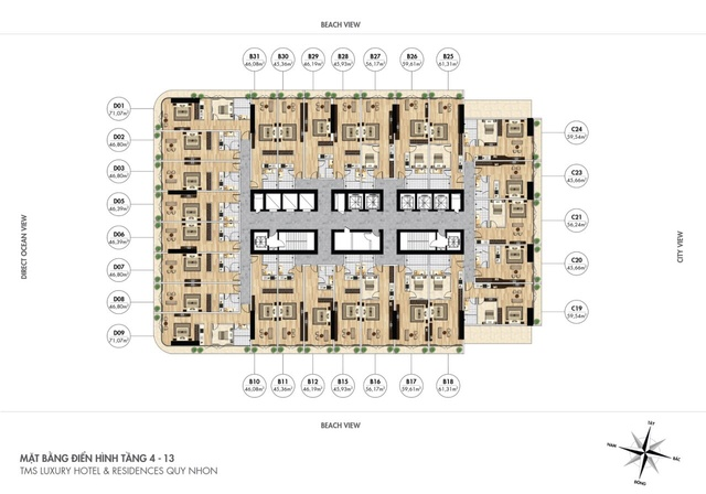 TMS Hotel Quy Nhơn - Dự án bất động sản cạnh tranh nhất hiện nay Mat-ba10