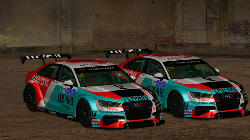 Skins Audi RS3 TCR _custo10