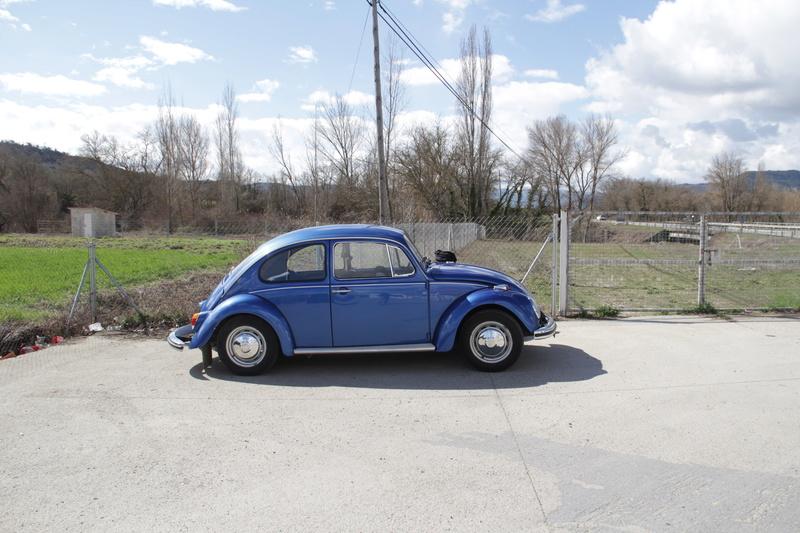 vw Escarabajo azul (diciembre 1966) desde Zaragoza... Img_1111