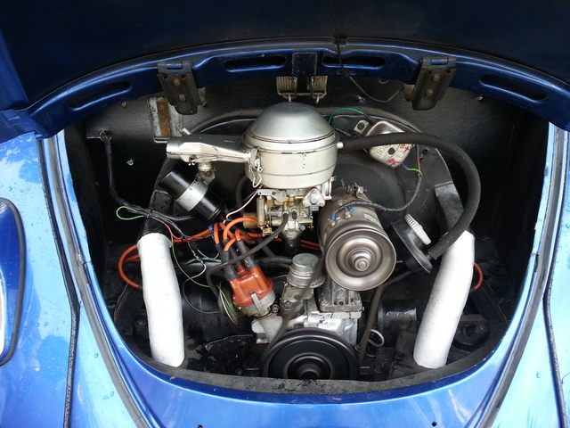 Saludos desde Zaragoza, Vw Escarabajo 1967 Volksw12