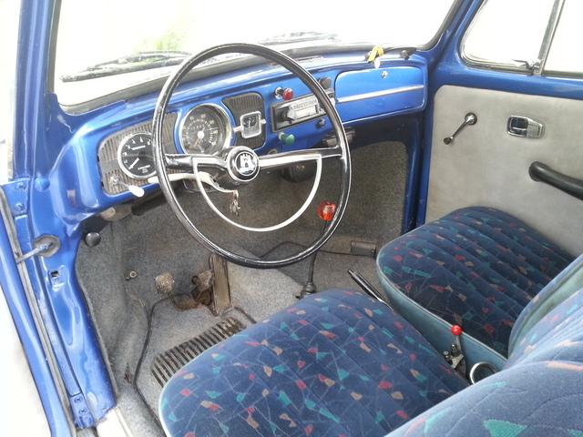 vw Escarabajo azul (diciembre 1966) desde Zaragoza... Volksw14