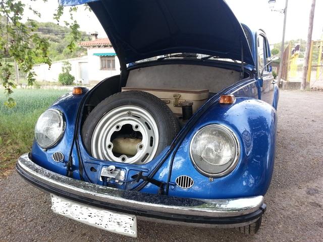 vw Escarabajo azul (diciembre 1966) desde Zaragoza... Volksw15