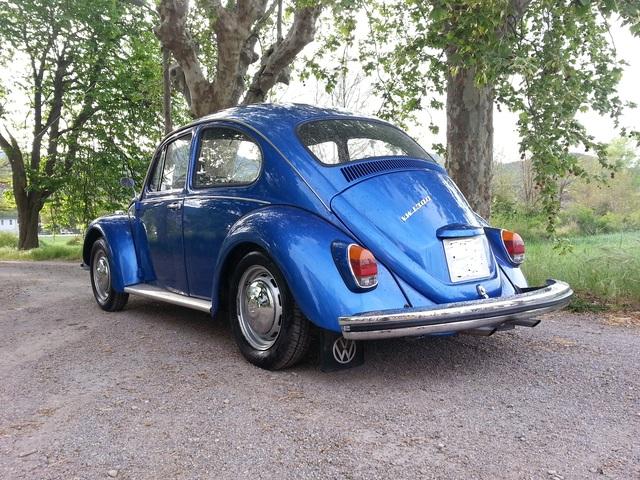 vw Escarabajo azul (diciembre 1966) desde Zaragoza... Volksw17