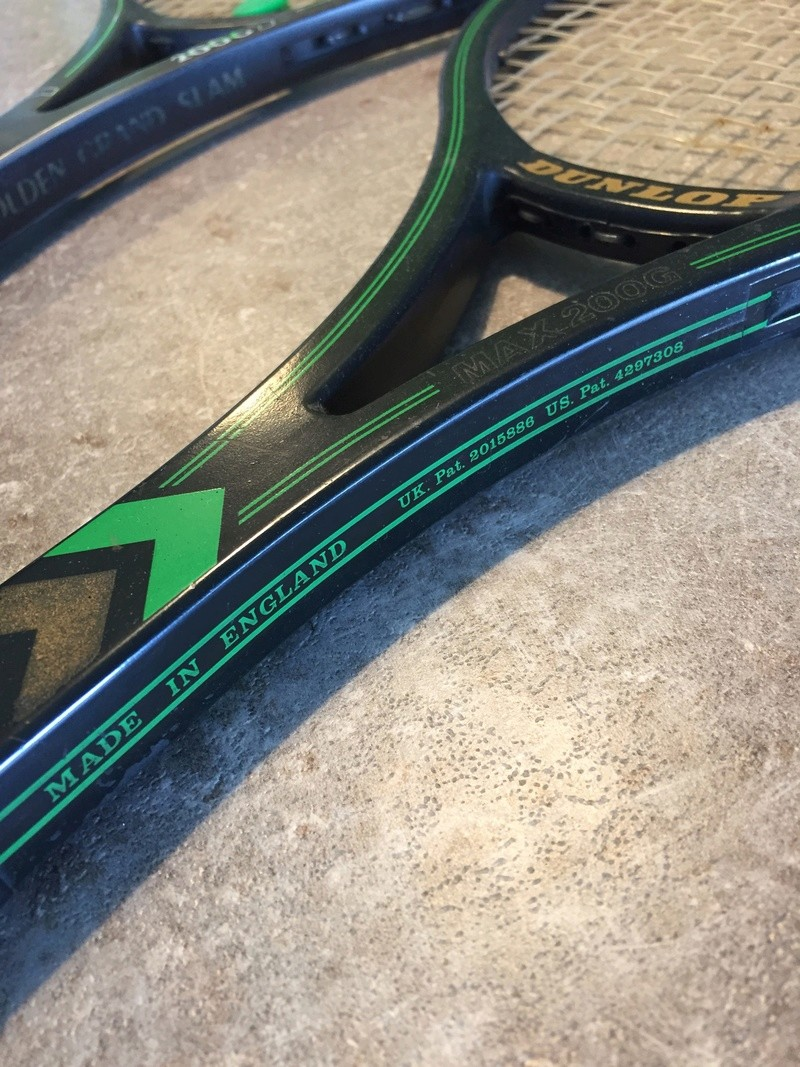 Dunlop Super Grand Slam & Max200 Graphite Img_9213