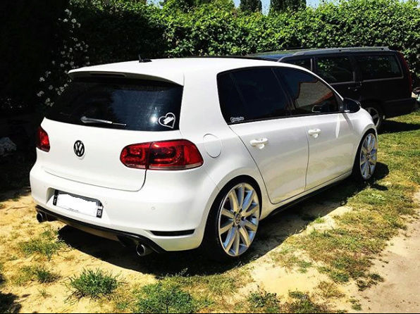 Golf 6 GTD DSG Blanc candy 5 portes  Screen12