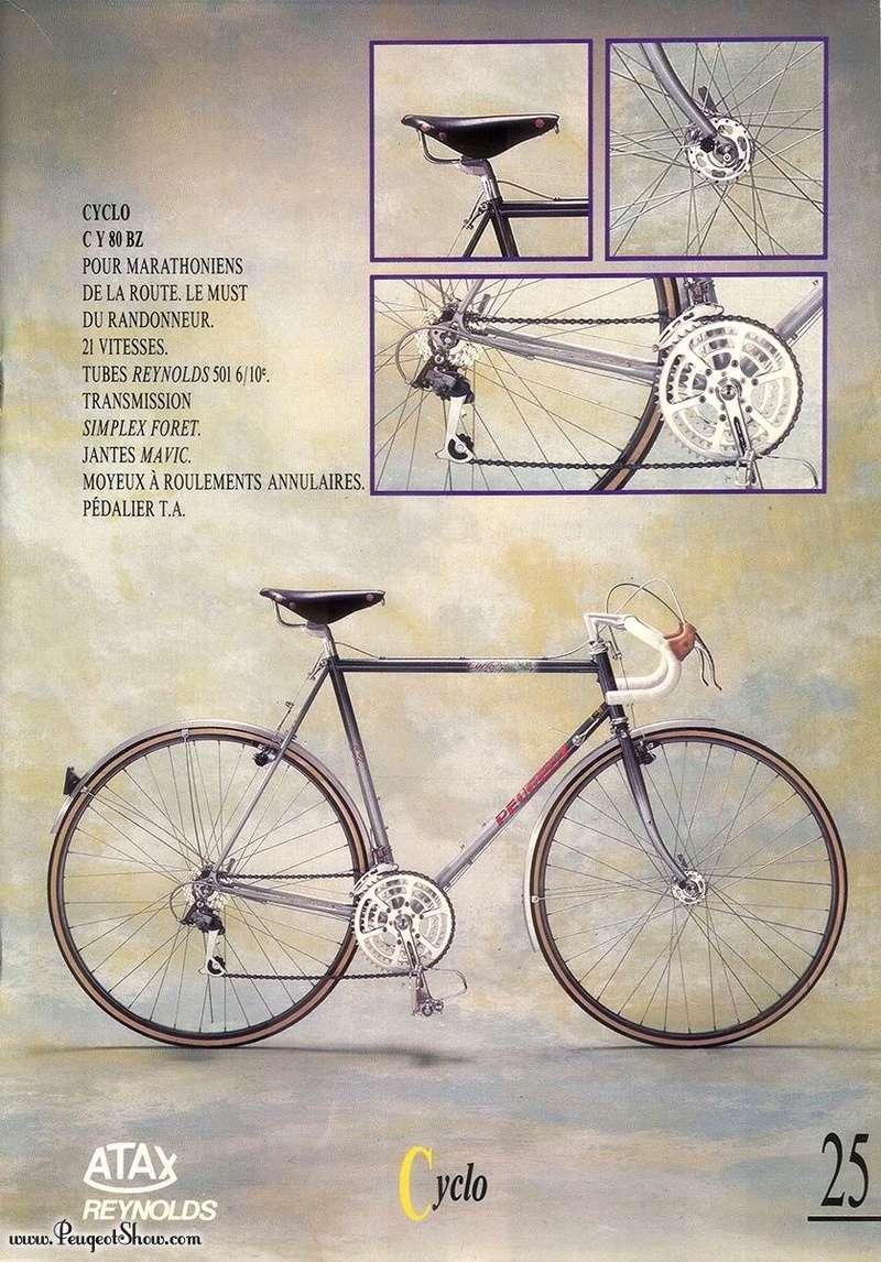 Peugeot cyclo C Y 80BZ 1989fr10
