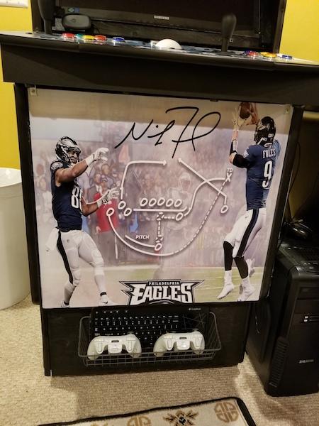 My Philadelphia Eagles Superbowl LII Winners Arcade 20180610