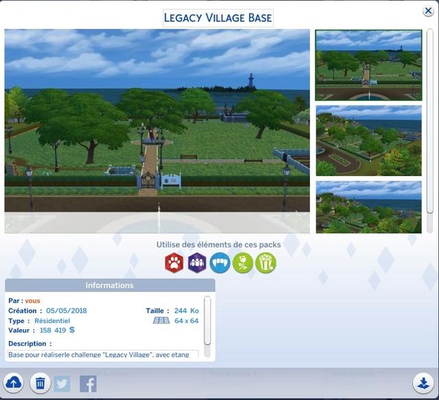 Sims 4 LEGACY VILLAGE Base_l11